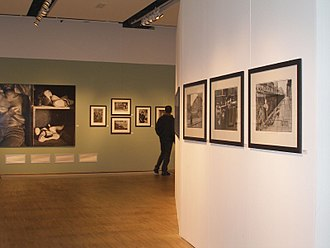 Humanist photography -  The humanistic picture (1945-1968), featuring Izis, Boubat, Brassaï, Doisneau, Ronis, et al. took place in the Mois de Photo festival from 31 October 2006 to 28 January 2007 at the BNF, Site Richelieu. Photo: Sonia Fantoli