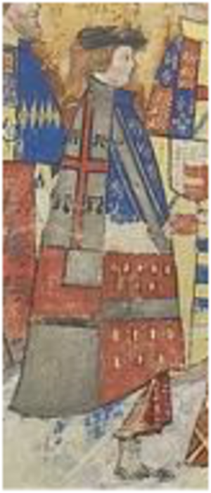 Henry Bourchier, 2nd Earl of Essex - Image: Henry Bourchier 2nd Earl Of Essex KG Garter Procession 1534