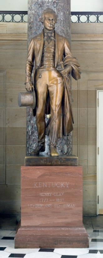 Henry Clay (Niehaus) - The sculpture in the National Statuary Hall Collection
