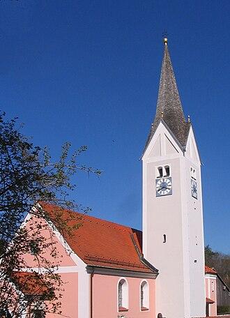 Herrngiersdorf - Image: Herrngiersdorf St Martin