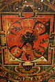 Hevajra Mandala, Tibet, 14th century, mineral pigments and gold on cotton - Berkeley Art Museum and Pacific Film Archive - DSC04188.JPG