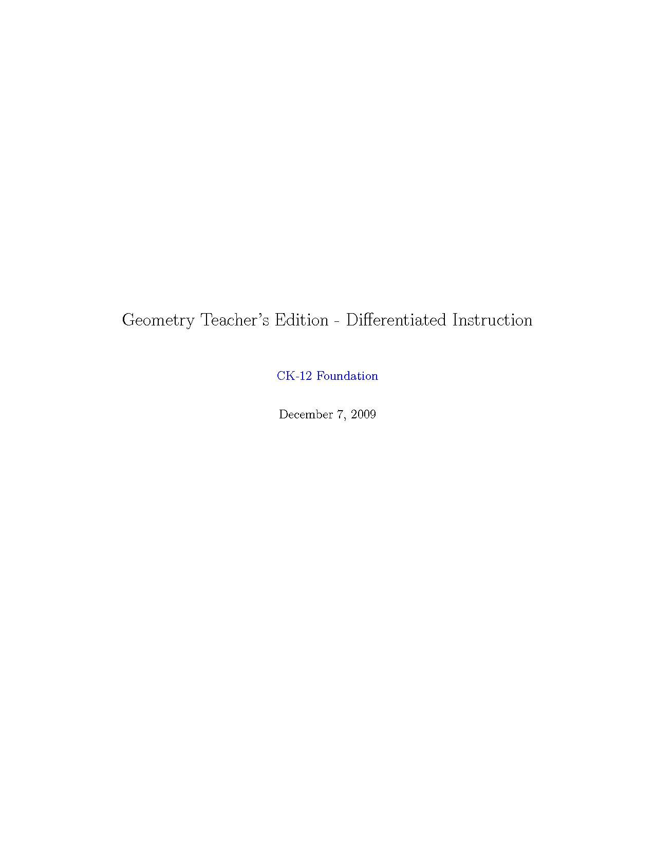 Filehigh School Geometry Differentiated Instructionpdf Wikimedia