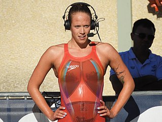 Hilary Caldwell Canadian swimmer