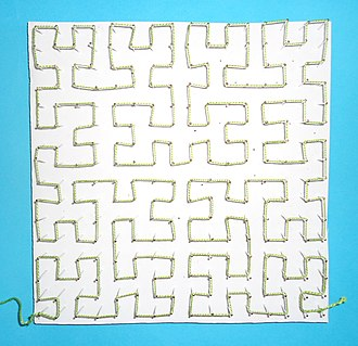 Hilbert curve - Image: Hilbert Curve String