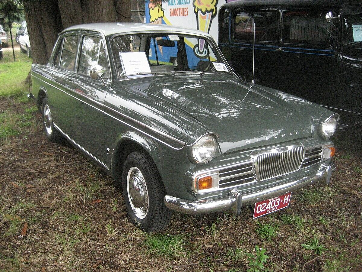 Front Wheel Drive Cars >> Hillman Gazelle - Wikipedia