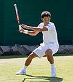 Hiroki Moriya 9, 2015 Wimbledon Qualifying - Diliff.jpg