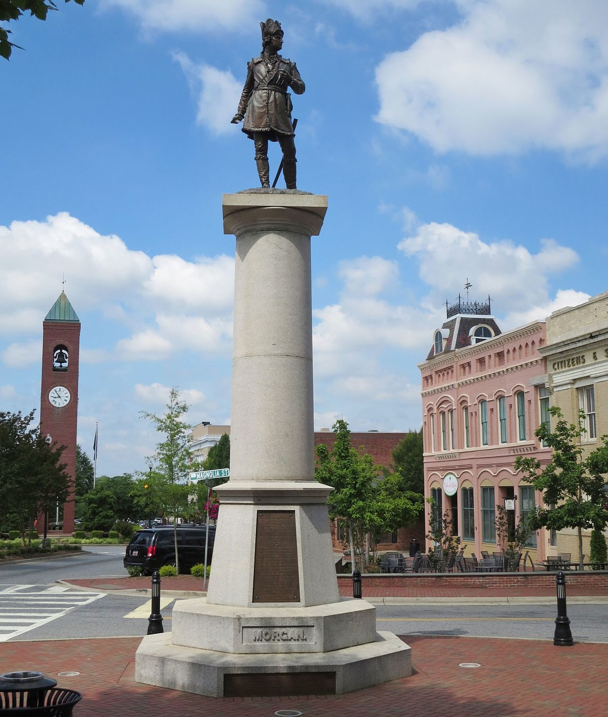 Daniel Morgan Monument Wikipedia
