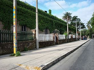 Peñarol, Montevideo - Historic workers residences of the railroad company