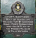 Historical marker Fort Santiago.jpg