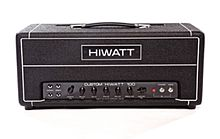 A Hiwatt Model DR103 100W Guitar Amplifier
