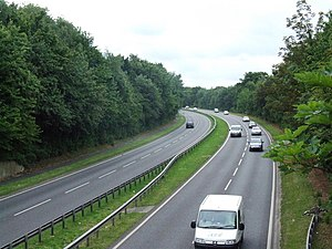 A278 road - Image: Hoath Way A278 geograph.org.uk 902661