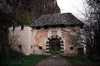 Hochosterwitz Castle - One of the 14 fortified gates