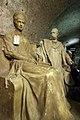 Hofburg - Kaiserlicher Weinkeller (Gipsmodelle) - Elisabeth und Franz Joseph I.JPG