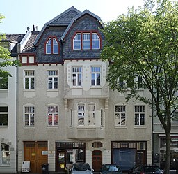 Hoffeldstraße in Düsseldorf