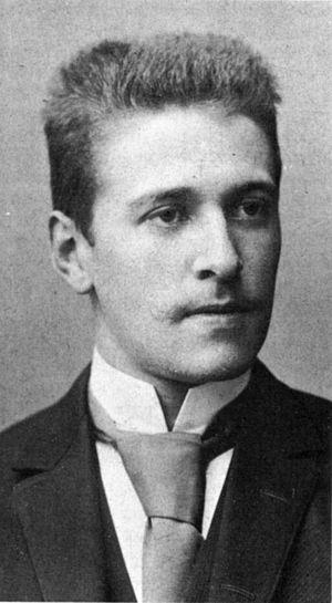 Hugo von Hofmannsthal - Image: Hofmannsthal 1893
