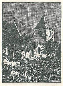 Stich Von Der Pfarrkirche St. Jakob