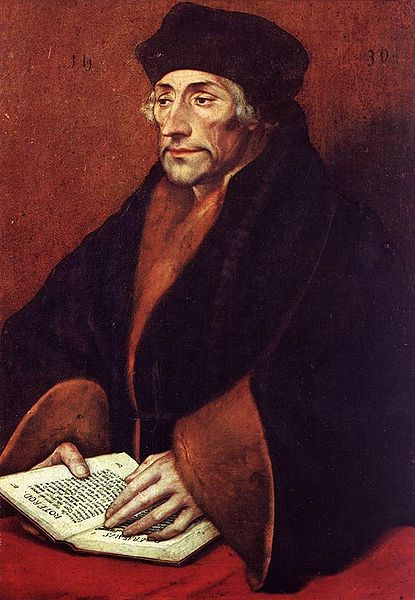 415px Holbein erasmus3 How to learn and what to learn: reflect and regulate; humanities and arts