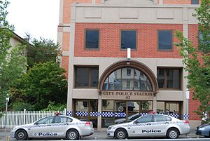 Tasmania Police - City Police Station in Hobart