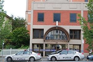 Tasmania Police - City Police Station in Hobart