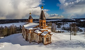 Holy Trinity Church, Konchezero.jpg