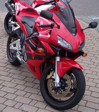 Honda CBR600RR - Image: Honda CBR 600 RR vr