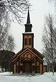 Honefoss church 2006-2-28 west.jpg