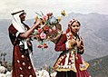 Honeymooning couple at Gun hill in Mussoorie 02.jpg