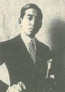 Daigaku Horiguchi Japanese writer