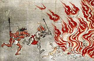 guardians of the Underworld appearing in Chinese mythology