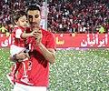 Hossein Mahini In Persepolis Championship Celebration.jpg