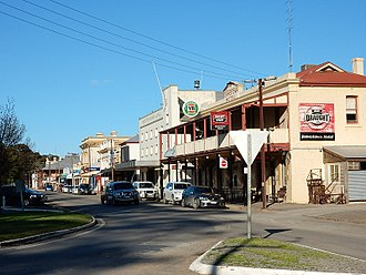 Jamestown, South Australia - Main street
