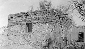 Pueblo of Isleta - Ruins at Isleta Pueblo