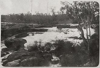 Hovea, Western Australia - Hovea falls, Western Australia, ca. 1926