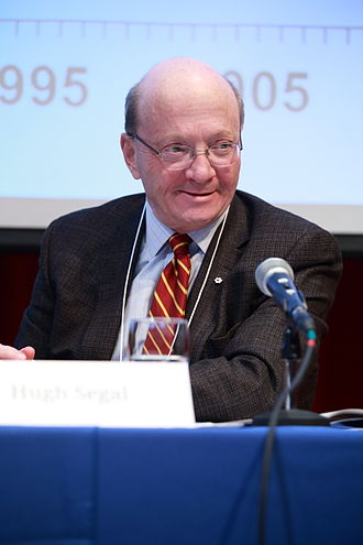 Hugh Segal - Image: Hugh Segal, Master of Massey College