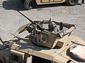 Humvee turret showing fifty caliber MG.jpg