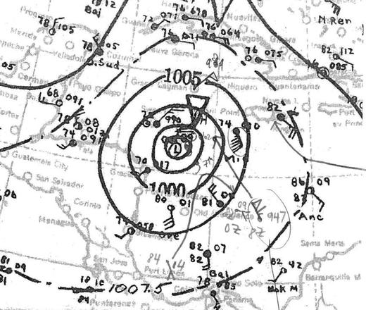 1932 Cuba Hurricane