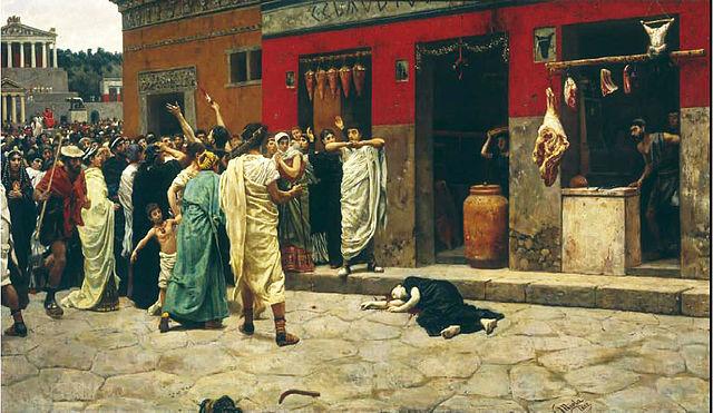 Le meurtre de Verginia de Camillo Miola (1882).