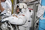 ISS-59 EVA-1 (a) Anne McClain is suited up inside the Quest airlock.jpg