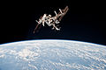 ISS and Endeavour seen from the Soyuz TMA-20 spacecraft 15.jpg