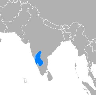 Kannada Dravidian language spoken in Karnataka, India