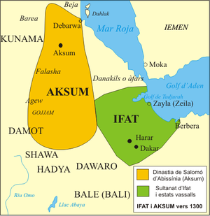 Sultanate of Ifat - The Ifat Sultanate in the 14th century.