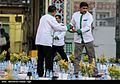 Iftar Serving for fasting people in the holy shrine of Imam Reza 08.jpg