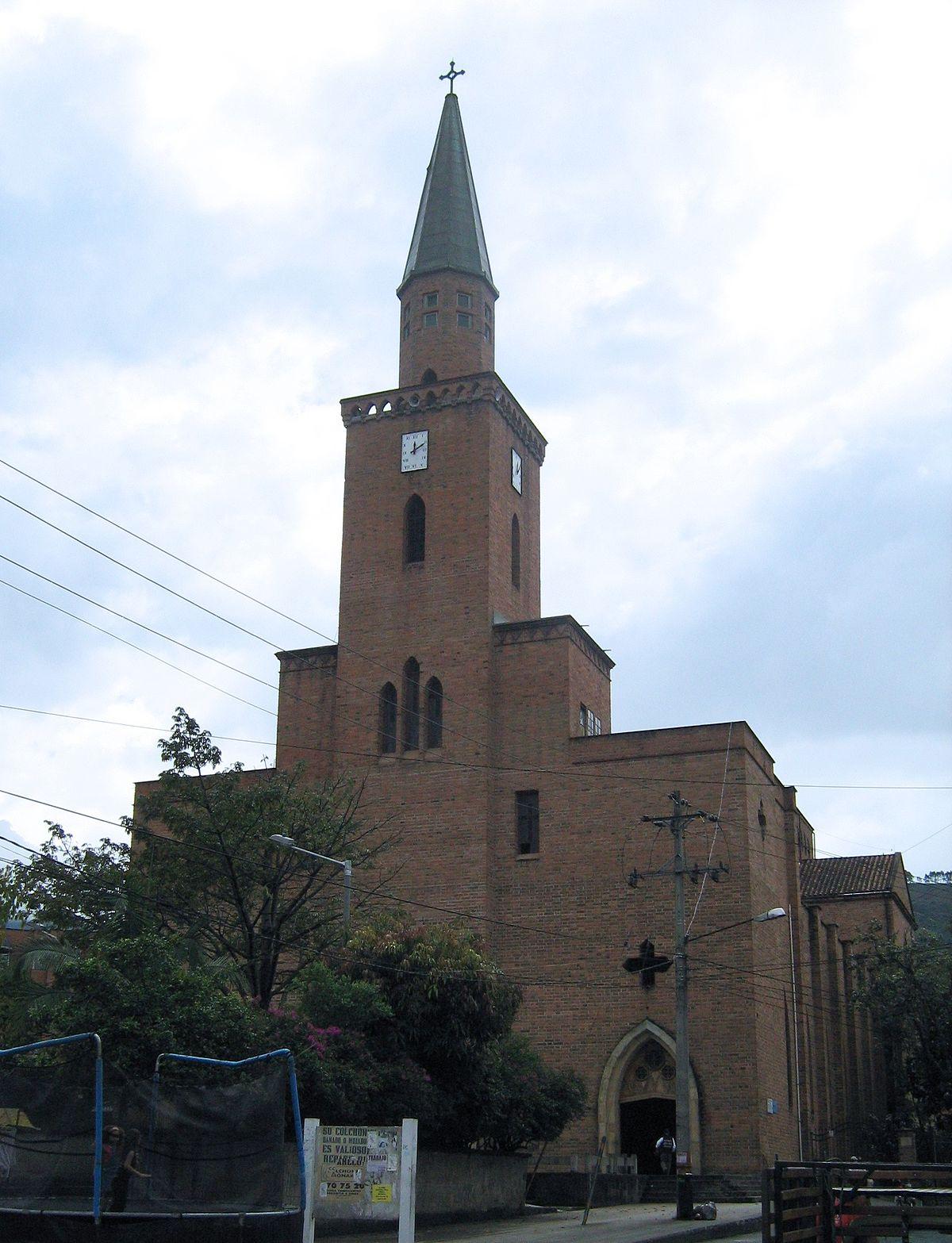 Saint Joseph S Church Envigado Wikipedia