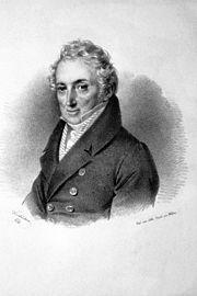 Ignaz von Mosel, Lithographie von Josef Kriehuber, 1830 (Quelle: Wikimedia)