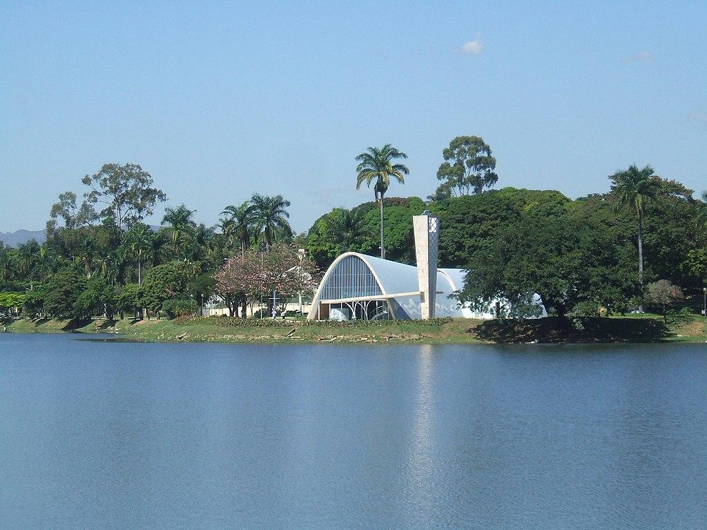 File Igreja De Sao Francisco De Assis Lagoa Da Pampulha Jpg