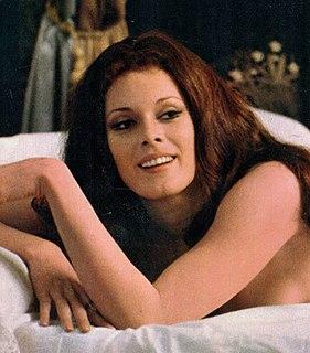 Martine Beswick English actress and model