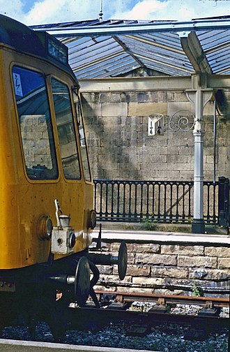 Ilkley railway station - Image: Ilkley