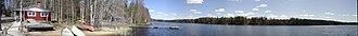 Ilmajoki - Kalajaisjärvi, the only lake in Ilmajoki.