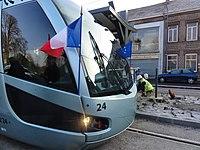 Inauguration de la branche vers Vieux-Condé de la ligne B du tramway de Valenciennes le 13 décembre 2013 (138).JPG