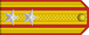 Independent batallion commander rank insignia (North Korea, 1948-1952).png